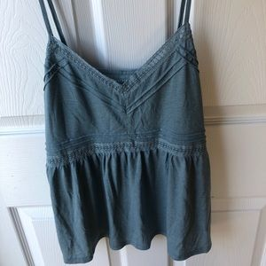 American Eagle blue tank top